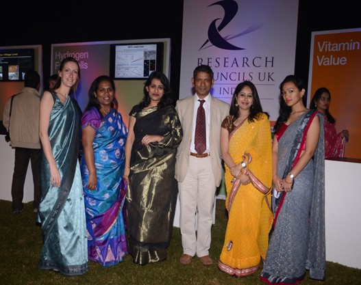 Delegates at the 5th Anniversary of Research Councils UK India celebrations, New Delhi, November 2013