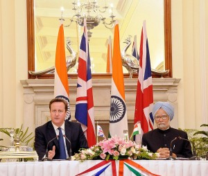 (Photo courtesy: www.ukinindia.fco.gov.uk) UK Prime Minister David Cameron and India Prime Minister Manmohan Singh